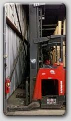 Raymond 740R45TT Reach Forklift 2008