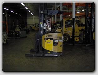 Caterpillar NR4500 Reach Forklift 2008