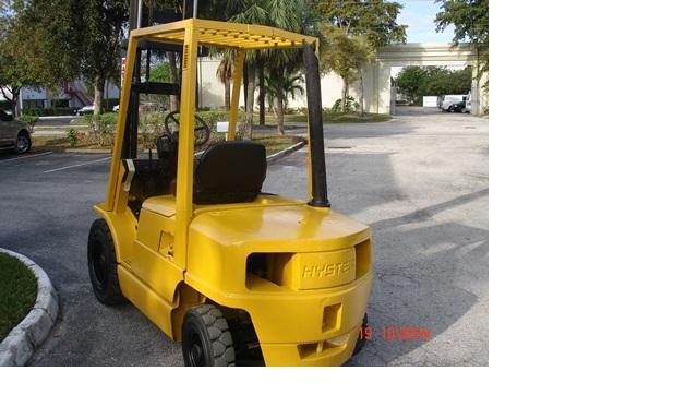 Hyster H50XM Diesel Forklift 1997