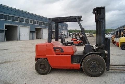 Nissan JP80 @ 4 ton Gas Forklift 2005