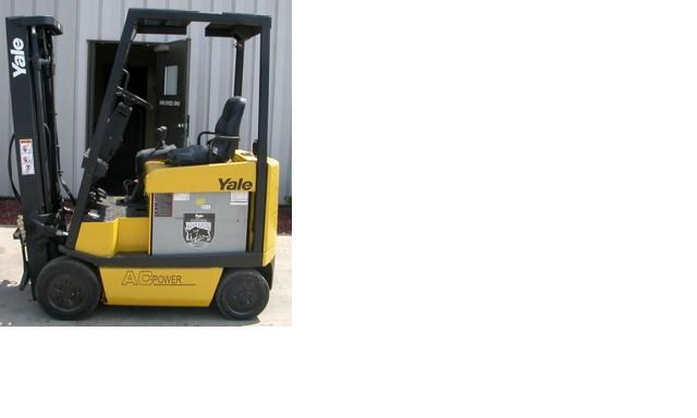 Yale ERC030A Electric Forklift 2006 3000lb Sit Down Rider