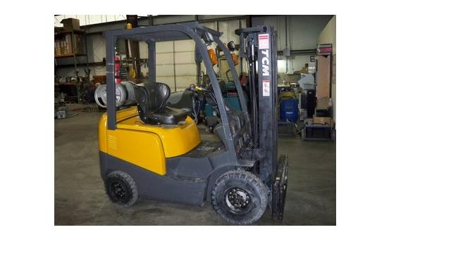 TCM FHG15T3L Propane Pneumatic 3000lb Forklift 2008