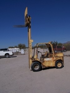 Hyster H80C Cheap Pneumatic @ 4 Ton Diesel Forklift 1984
