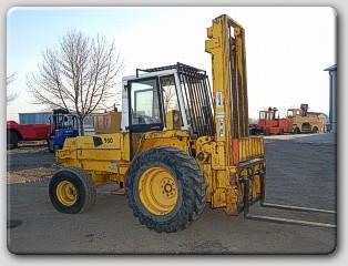 JCB JCB930 Rough Terrain 6000lb Diesel @ 3 Ton Forklift 1988
