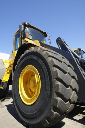 Replace Forklift Tires