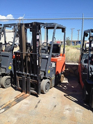 Toyota Forklifts 30-7FBCU15 3000lb Sit Down Rider EE Electric Forklift 2009