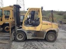 Hyster Forklifts H155FT 7.5 Ton 15,500lb Pneumatic Tire Diesel Forklift 2011