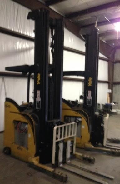 Yale Forklifts NDR035EANL36TE138 Electric Rider 3500lb Double Reach Forklift 2012