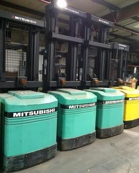 Mitsubishi Forklifts EOP15 3000lb Electric Order Picker Forklift 2007