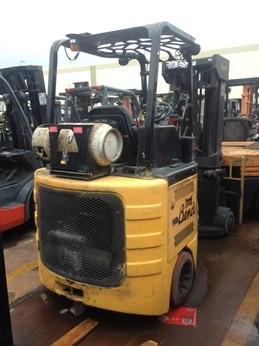 Bendi Forklifts B40/48IC180 4000lb LPG Side Loading Forklift 2008