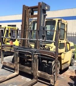 Daewoo D60S-2 Pneumatic Tire 13,500lb Diesel Forklift 2001