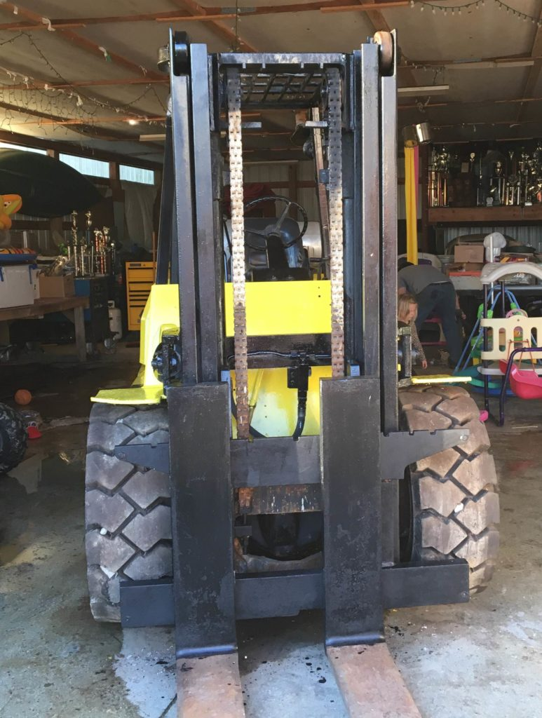 Hyster Forklifts H100XL 10,000lb Pneumatic Tire Propane Forklift 1992