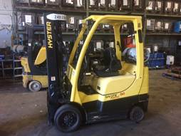 Hyster Forklifts S50FT 5000lb Cushion/Solid Tire Propane Forklift 2014