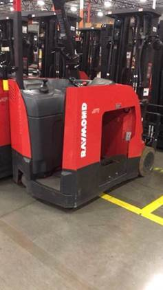 Raymond Forklifts 425C40TT Electric Stand Up Rider 4000lb Narrow Aisle Counter Balance Forklift 2010