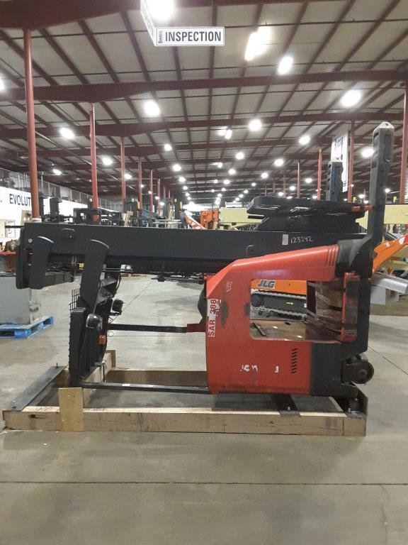 Raymond Forklifts 740DR32TT Electric Stand Up Rider 3200lb Narrow Aisle Double Reach Forklift 2012