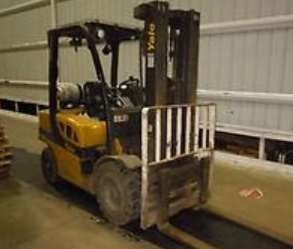 Yale Forklifts GLP060VX Propane Fuel Pneumatic Tire 6000lb Forklift 2014