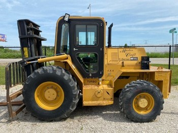 Master Craft C080116 tractor type tire 4 wheel drive 8000lb diesel fuel rough terrain forklift