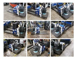 Nissan RPXT2W2G60NV electric walkie rider 6000lb pallet jacks.