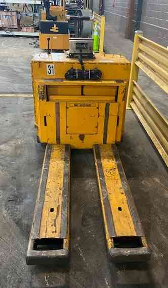RICO EX RATED PALLET JACK Model PWHS-EX-60 6000lb explosion proof pallet truck