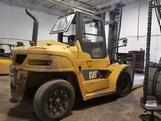 Cat DP100NT diesel engine pneumatic tire 10.5 ton 22,000lb outdoor forklift