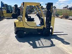 Hyster H50 pneumatic tire 5000lb outdoor propane fuel forklift