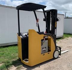 Yale ESC040ACN36TE088 narrow aisle electric 4000lb stand up end control rider counterbalanced warehouse forklift