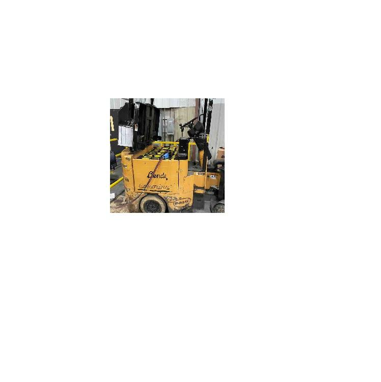 BENDI B4048AC electric sit down rider 4000lb very narrow aisle articulating side loading forklift