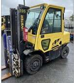 Hyster H80FT 8000lb diesel engine pneumatic tire outdoor forklift