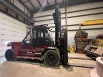 Taylor TXH350L 35,000 lbs 18 ton pneumatic tire diesel fuel outdoor forklift